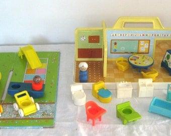 1978 Fisher Price Family Play Nursery School #929
