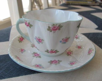 Vintage Shelley Primrose Tea Cup and Saucer 272101
