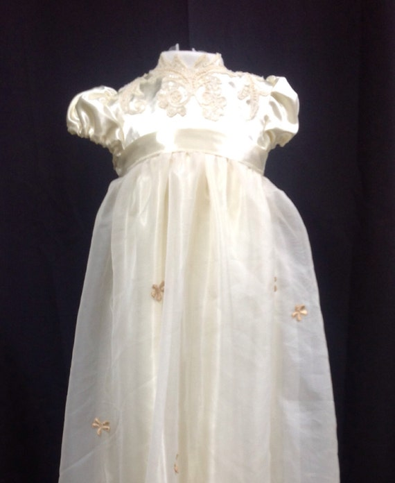 Wedding Dress To Christening Gown: Christening Gowns From Wedding Dresses Or Fabric Handmade