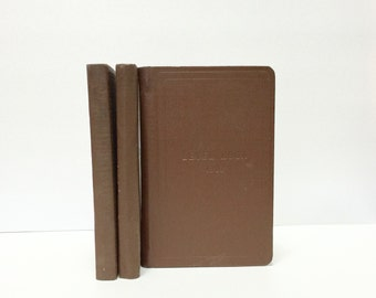 3 Vintage Standard Engineer's Field Books, Level 1307 and Field 1308, grid paper, all unused pages with tables in the back, cloth boards
