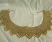 Amazing Pearl Beaded Collar