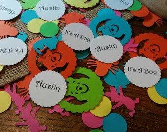 Personalize Winnie The Pooh & Friends Confetti 300 CT- Baby Shower- Birthday- Custom colors