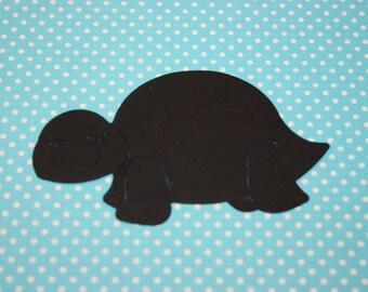 Turtle Die Cut10 CT- Die Cut- Cutout- Custom Colors Available