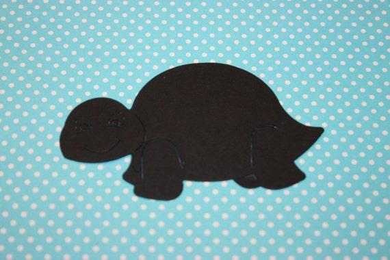 10 Turtle Die Cut-Custom Colors Available