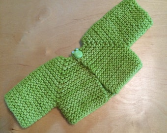 Sweater for 16-inch Waldorf Doll  **Apple Green**