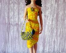 """for 16"""" Ladies OOAK Crochet SET """"Mimosa"""" - Tonner Ellowyne Antoinette Dolls - AllforDoll STYLE"""