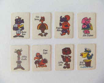 Old Maid Mini Playing Cards, Sonny Cocoa Puffs Cereal Box Toy Prize, Cuckoo for Cocoa Puffs