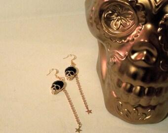 Skulls & Stars Earrings