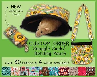 CHOOSE A FABRIC Convertible Snuggle Sack Bonding Pouch