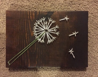 String art Dandelion