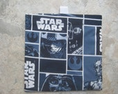 TRY ME SALE - One Bag for 2.45 - Reusable Snack Bag, Reusable Sandwich Bag with easy open tabs- Star Wars