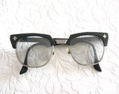vintage nerd glasses Bausch & Lomb Safety