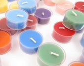 Fruity Scent//TEA LIGHT Soy Candles//6 pk - Select A Scent