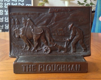 The Ploughman Bookend