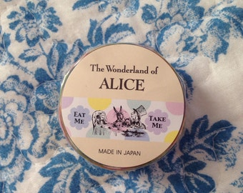 NEW masking tape Disney Alice in wondeland Dot