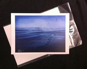 Departing - A4 Print