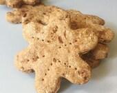 Jumbo Tropical Barkin' Bacon Doggy Treats - bacon pineapple treats for dogs - All Natural, 6 jumbo cookies