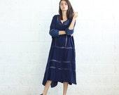 SALE!Breeze Kaftan Dress, Blue.