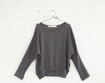 Final SALE ***** Autumn fashion,Grey sweater,Womens sweater