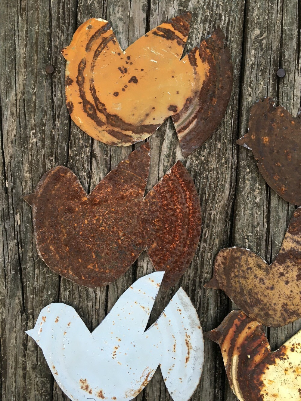 Rusty tin craft supplies - Sold By Chillcrafts