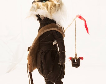 Sculpture-Doll-Kosuka de  Valeria Dalmon KSK- only for comission- Textil-