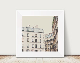 Paris photograph Paris print Paris decor architecture photography travel photography Paris apartment photo window photograph