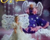 20%OFF Annie's Attic FASHION DOLL Angels  - Crochet Doll Dress Pattern