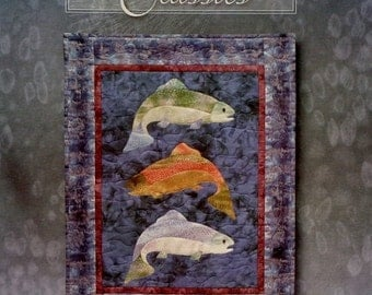 20%OFF McKenna Ryan Pine Needles CLASSICS FISH Tales Quilt Quilting Quilter Pattern Template