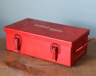 Vintage German/Dutch First Aid Kit Verbandkasten 402