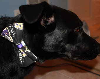 Baltimore Ravens Dog Bow/Bow Tie Accessory