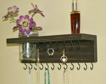 On Sale Jewelry Shelf Organizer Necklace Holder