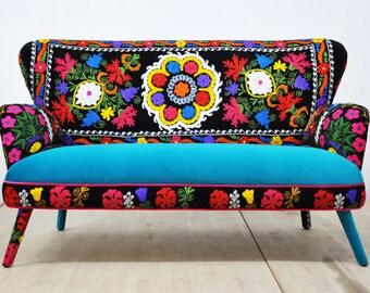 10% SALE: Suzani 2-seater sofa - Fall