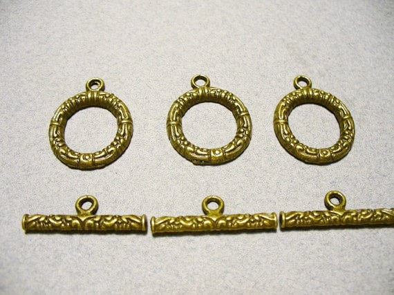 Toggle Clasp Brass 17MM