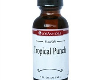 Tropical Punch  LorAnn Hard Candy Flavoring Oil 1 oz.