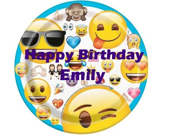 Emoji Gang Party Cake Topper