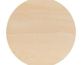 3 Wooden Circles 8 Inches Woodpeckers®