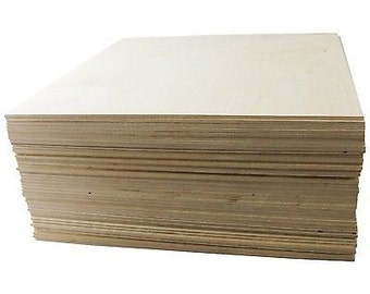 """1/8"""" X 12 X 24 Baltic Birch Plywood Great for Laser, Cnc, and Scroll Saw. 2..."""