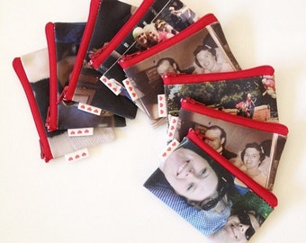 The perfect gift for everyone, gift idea for mom, dad, kids, parents, Custom Photo wallet