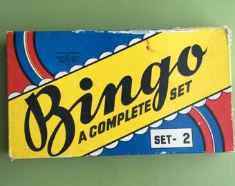 Vintage 1937 Bingo Game