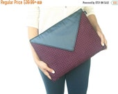ON SALE Leather Wacom Tablet Case, Black Leather Intuos Graphic Tablet Cover, Wacom Intuos Tablet Sleeve, Pink Wacom Bamboo Cover