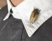 Limited Edition Cicada Cloisonné Enamel Pin