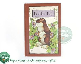 Vintage Serendipity Book Leo the Lop Hardcover