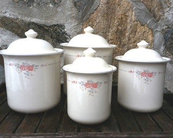 Canister set, Trousseau by Pfaltzgraff