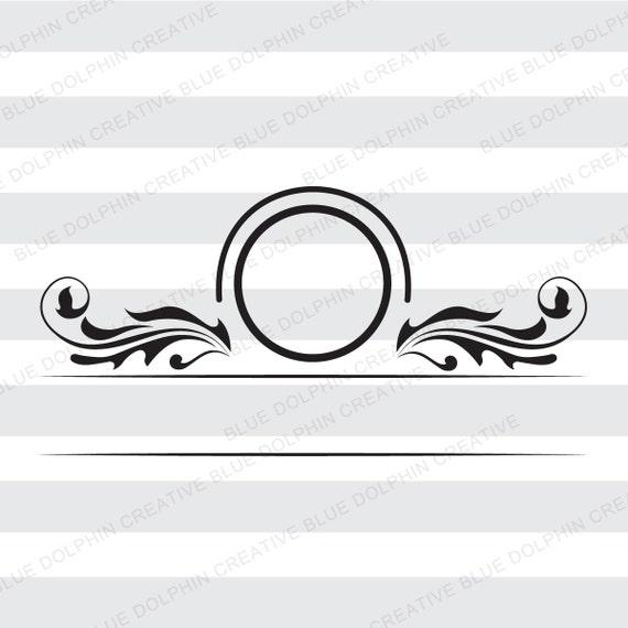 Mailbox Monogram Name Frame Svg Png Pdf Dxf Jpg Ai Cutting