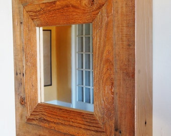 WesternDrift Reclaimed Wood Mirror - Ready to Ship
