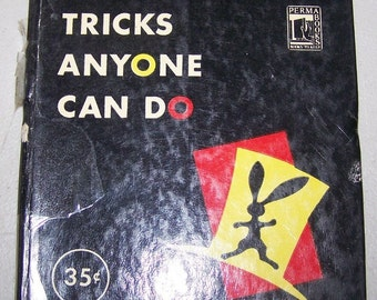 "Vintage ""Blackstone's Tricks Anyone Can Do"" Book"