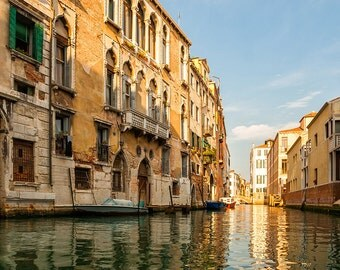 Photograph of Venice Canal