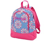 Personalized Toddlers Backpack Zoey Print