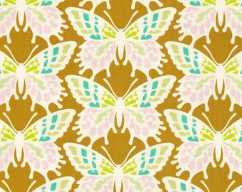 42086 Heather Bailey Clementine PWHB055 in Ginger - 1 yard