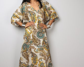 Boho Dress / Maxi Dress / Kaftan Dress : Bohemian Kaftan Collection no. 3